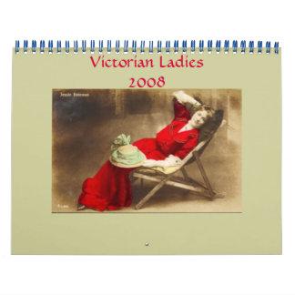 Victorian Ladies Calendar - Customized