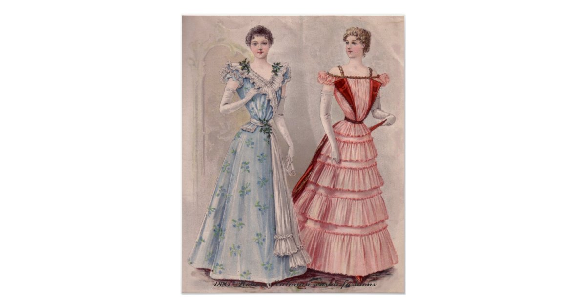 Victorian Ladies House Style In Catalog Posters Zazzle