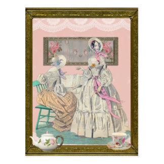 Victorian Ladies Post Card