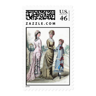 Victorian Ladies Stamp Sheet