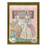 Victorian Ladies Wens Kaart