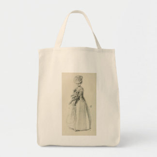 Victorian Lady Fashion Canvas Bags