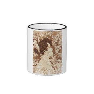Victorian Lady in Springtime Mug