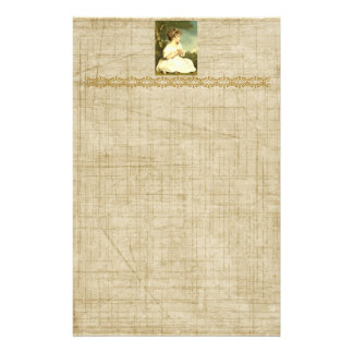 Victorian Lady in the Garden Stationery