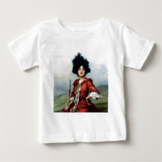Victorian lady painting baby T-Shirt