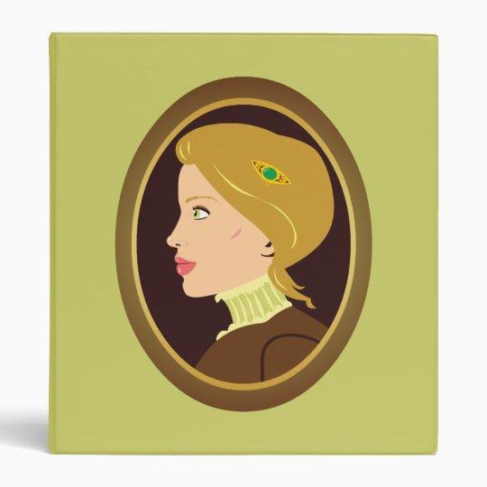 Victorian Lady Portrait Binder