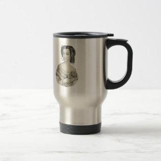 Victorian Lady Portrait Coffee Mugs