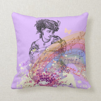 Victorian Lady Pillows : Victorian Style Pillows - Decorative & Throw Pillows Zazzle
