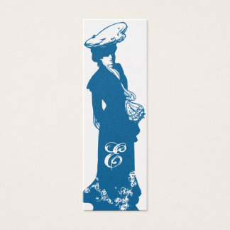 Victorian Lady Skinny Calling Card