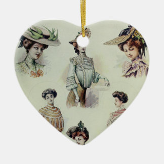 Victorian Lady – Vintage French Fashion – Blouses Ceramic Ornament
