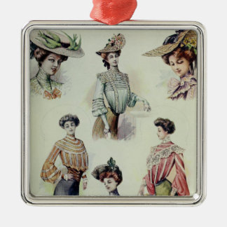 Victorian Lady – Vintage French Fashion – Blouses Metal Ornament