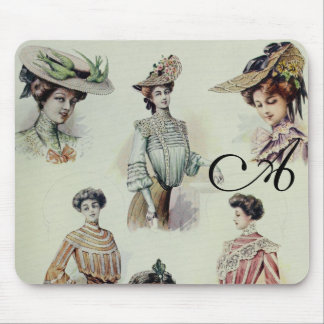 Victorian Lady – Vintage French Fashion – Blouses Mousepad