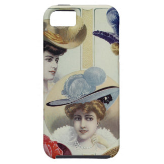 Victorian Lady – Vintage French Fashion –Hats iPhone SE/5/5s Case