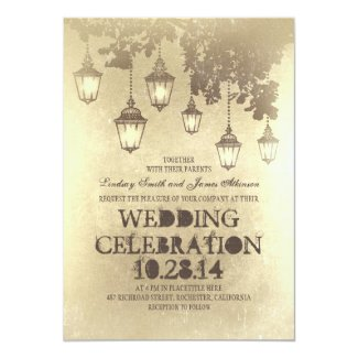 lantern wedding invitations - Lantern Wedding Invitations