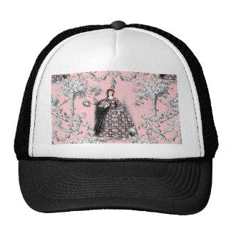 Victorian Lass on Dauphine Pink Trucker Hat