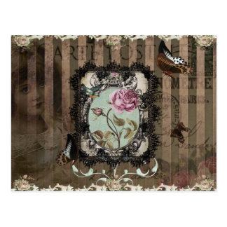 Victorian Letters Postcard