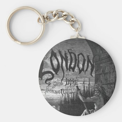Victorian London - Father Thames Keychains