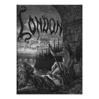 Victorian London - Father Thames Poster