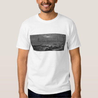 Victorian London - Houses of Parliament by Night Shirt
