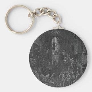 Victorian London - River Side Street Keychain