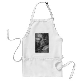 Victorian London - The watermans family Adult Apron