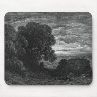 Victorian London -  Two Pilgrims at Highgate Mouse Pad
