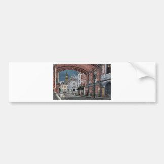 Victorian London with Big Ben Bumper Sticker