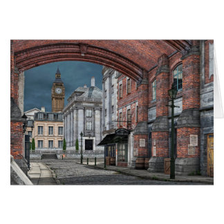 Victorian London with Big Ben Card