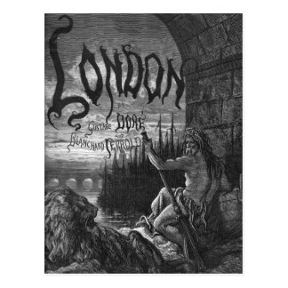 Victorian Londres - padre Thames Tarjetas Postales