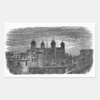 Victorian Londres - torre de Londres Etiquetas