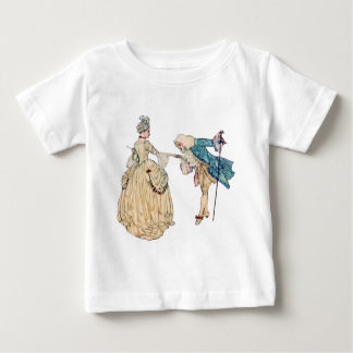 Victorian Lord And Lady Illustration Baby T-Shirt
