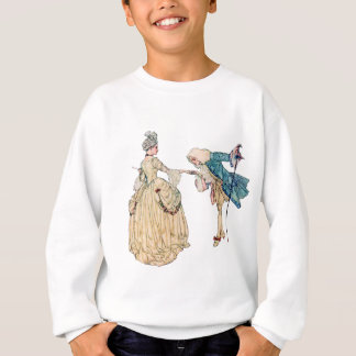 Victorian Lord And Lady Illustration Sweatshirt