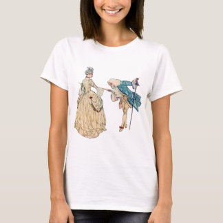 Victorian Lord And Lady Illustration T-Shirt
