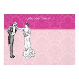 Victorian Lord And Lady Wedding Invitations
