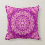 Victorian magenta y rosado floral almohadas