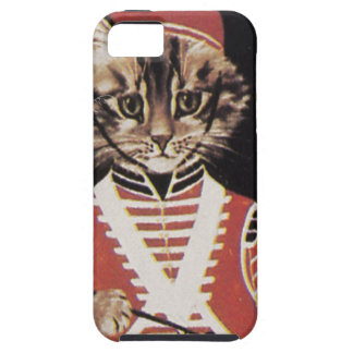 Victorian Marching Cat Drummer Boy Drum iPhone SE/5/5s Case