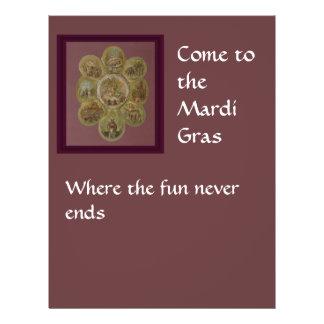 Victorian Mardi Gras Ball Flyer