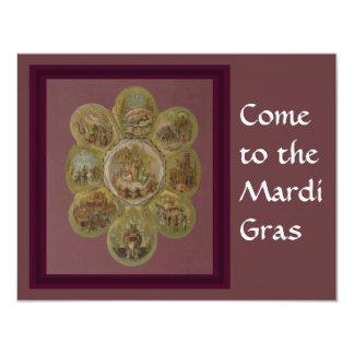 Victorian Mardi Gras Ball Invitations