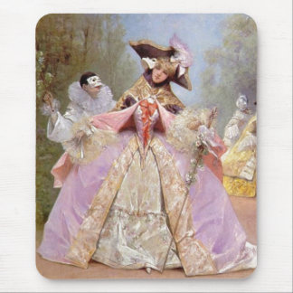 Victorian Masquerade Ball Mouse Pad