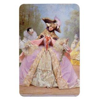 Victorian Masquerade Ball Premium Flexi Magnet