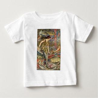 Victorian Mermaid Art by H J Ford Baby T-Shirt
