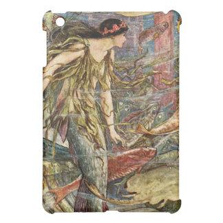 Victorian Mermaid Art by H J Ford iPad Mini Covers