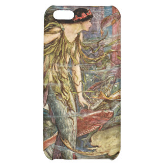 Victorian Mermaid Art by H J Ford iPhone 5C Case