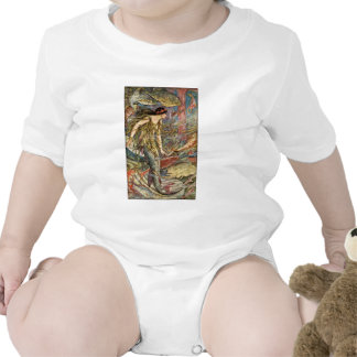 Victorian Mermaid Art by H J Ford T Shirts