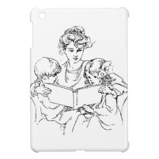 Victorian Mother Reads To Her Children iPad Mini Cases