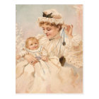 Victorian Mother With Child Mother's Day Card