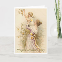 Victorian Mother's Day Card