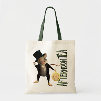 Victorian Mouse Tote Bag
