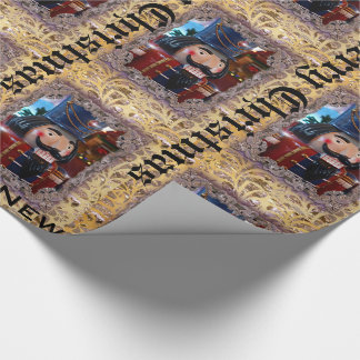 Victorian Mr. Nutcracker Customize Wrapping Paper
