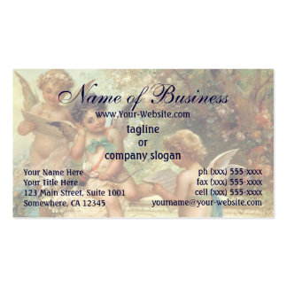 Victorian Music Angels by Hans Zatzka Double-Sided Standard Business Cards (Pack Of 100)